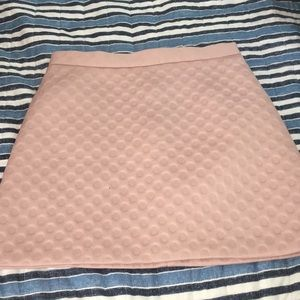 Top shop cute light pink skirt size 6 or small